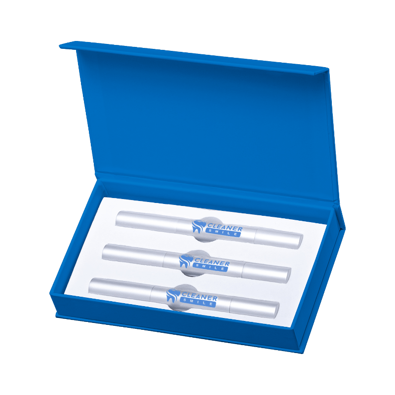 extra strength teeth whitening pens top view