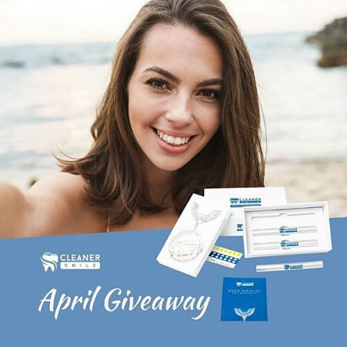 Cleaner Smile Giveaway April 2020